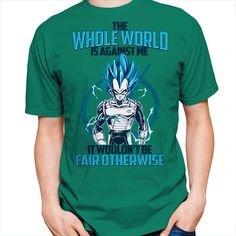 Super Saiyan Vegeta God Fair Otherwise Short Sleeve Shirt - PF00552SS