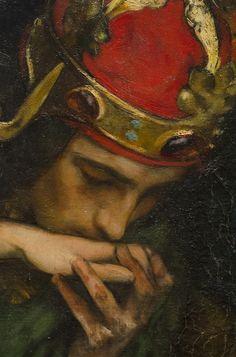 Edwin Austin Abbey King Lear Act I scene Cordelias Farewell detail Metropolitan Museum of Art Guache, Classical Art, Renaissance Art, Pretty Art, Art Plastique, Aesthetic Art, Oeuvre D'art, Art Inspo, Art History