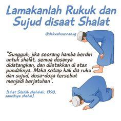 """Dakwah Sunnah di Instagram """"RAHASIA DI BALIK LAMANYA RUKU' DAN SUJUD . Mungkin orang Indonesia yang pernah pergi ke dua tanah suci heran dengan lamanya ruku' dan sujud…"""" Hijrah Islam, Doa Islam, Pray Quotes, Life Quotes, Muslim Quotes, Islamic Quotes, Ramadhan Quotes, Islamic Cartoon, All About Islam"""