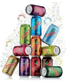 Zevia - all-natural diet soda.  http://pinnedrecipes.com