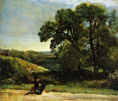 View The Traveller by John Constable on artnet. Browse more artworks John Constable from Richard Nathanson Impressionist Century Art. Stonehenge, Westminster, Somerset, New Artists, Great Artists, Brighton, John Constable Paintings, English Romantic, British Countryside