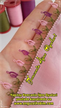 Needlework, Diy And Crafts, Model, How To Make, Youtube, Jewelry, Hand Embroidery, Lilac, Amigurumi