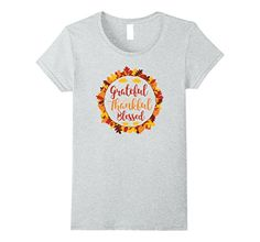 17a27a6a Blessed Shirt, Grateful, Thankful, Thanksgiving, Thanksgiving Celebration,  Thanksgiving Crafts