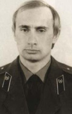 ClassicPics @History_Pics Vladimir Putin during his days in the KGB. Blonde hair, blue eyes. Disturbing how he resembles SS General Reinhard Heydrich of Nazi Germany. History repeats itself.