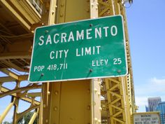 Gateway to Sacramento Sacramento City, City Limits, Bridges