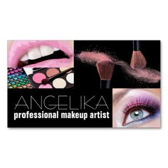 100 best makeup artist business cards images on pinterest makeup professional makeup artist beauty salon business card colourmoves