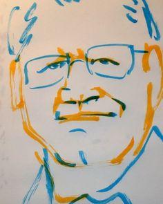 いいね!0件、コメント1件 ― @1mindrawのInstagramアカウント: 「#1mindraw  #robertzemeckis  #ロバートゼメキス #19520514 #birthday #誕生日  #portrait  #筆ペン画」