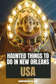 haunted places in New Orleans, things to do in New Orleans, Spooky things to do in New Orleans, ghost tours in the French Quarter, things to do in the french quarter New Orleans, French Quarter history, tours in New Orleans, cemeteries in New Orleans, Voodoo history in New Orleans, Marie Laveau's House of Voodoo, Voodoo Queen of New Orleans, things to do in NOLA, wanderingcrystal, haunted places to visit in New Orleans, vampires in New Orleans, St Louis Cemetery #NewOrleans #DarkTravel #USA St Louis Cemetery, Stuff To Do, Things To Do, Marie Laveau, New Orleans Travel, Ghost Tour, Haunted Places, French Quarter, Voodoo