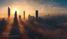 Kuwait among the clouds by ayed_al_ajme_