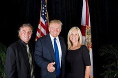 It Works! Global CEO –Mark Pentecost and wife Cindy pictured with Donald Trump