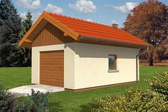 Projekt domu Eryk energo plus - koszt budowy 151 tys. Modern Bungalow Exterior, Bungalow House Design, Modern House Design, Facade House, Small House Plans, Bathroom Interior, Shed, Outdoor Structures, Home Fashion