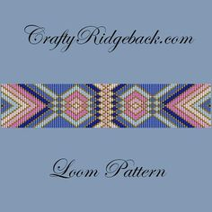 This is a digital download loom pattern to make the bracelet shown in the pictures. There is no physical item with this purchase. This includes 1 PDF file with both a grid chart and a word chart. This does not include instructions on how to use the loom or square stitch. This