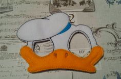 duck donald inspired mask ITH Project In the Hoop Embroidery Design Costume, Cosplay, Fancy dress, Masquerade, Photo booth, Prop by SewBabyBows on Etsy