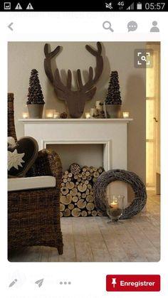 Künstlicher Kamin, Elch, Kerzen, Traumhaus, Weihnachten, Wohnen, Magisches  Weihnachten, Weihnachten Spaß, Weihnachtsschmuck, Weihnachten Kaminsims,  Urlaub, ...