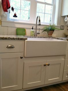 Our Farmhouse Sink - Tips to Clean and Care for Porcelain Sinks - Andrea Dekker