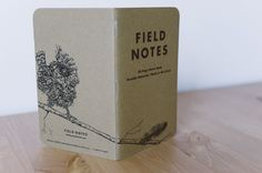 """Notizbuch """"Bird"""" #1 - Field Notes mit Illustration"""