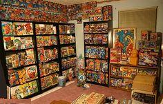 1000 images about comic book storage ideas on pinterest comic book storage magazine racks. Black Bedroom Furniture Sets. Home Design Ideas