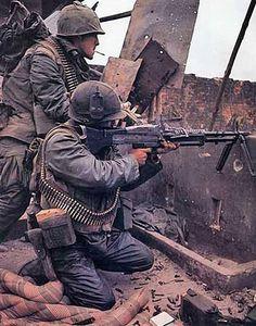 Vietnam War colour photos. batalla de Hue, febrero de 1968 More