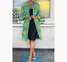 Hey Guys, We want you to take seat and watch these Ankara styles that are too dapper for you to ignore. We can tell you that these Ankara styles are creative, classy and exciting to have. African Print Dresses, African Fashion Dresses, African Dress, African Outfits, Ankara Dress, African Prints, Fashion Outfits, Ankara Blouse, Fashion 101