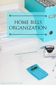 This week, dedicate some time to organize your personal bills. I will teach you how to create a home bills organization nook, to make bill pay easier. Financial Organization, Organizing Paperwork, Home Organization Hacks, Home Office Organization, Purse Organization, Organizing Your Home, Organization Ideas, Business Organization, Getting Organized At Home
