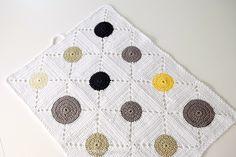 Opskrift på smukt hæklet køkkenhåndklæde i ren bomuld