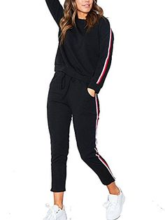 UUYUK Women Casual Hooded Skinny Zip Front Jogger Pants Sport Bodycon Jumpsuit Romper