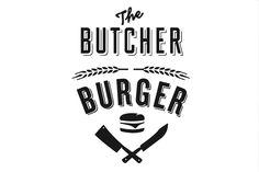 Butcher & the Burger Logo - Buscar con Google