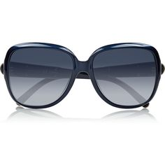 Chloé Square-frame acetate sunglasses (850 NOK) ❤ liked on Polyvore featuring accessories, eyewear, sunglasses, glasses, blue, gradient lens sunglasses, uv protection glasses, blue sunglasses, acetate glasses and square frame glasses