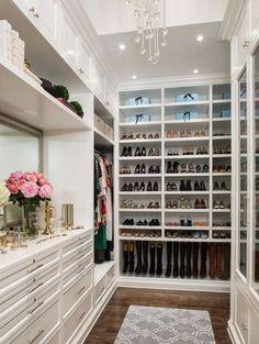 Gorgeous walk in closet