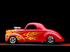 hot+rod+flames | Hot Rod with Flames