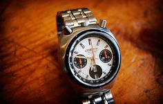 Bullhead Chronograph by citizen Easy Rider, Timex Watches, Men's Watches, Watches Online, Cool Watches, Watches For Men, Chronograph, Seiko, Vintage Watches