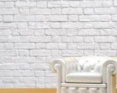 Deccolar - Adesivo Decorativo - Adesivo de Parede: Painel Tijolo Branco - Adesivo de Parede - 750 Adesivos Decorativos exclusivos