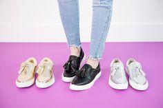 Tassel Sneakers   5.5-11!