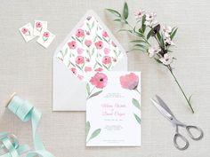 Watercolor Envelope Liner Printable Envelope Liner Wedding Diy Envelope Liners, Wedding Stationery, Wedding Invitations, Paris Theme, Wooden Decor, Easy Diy Crafts, Etsy Handmade, Envelopes, Wall Art Decor