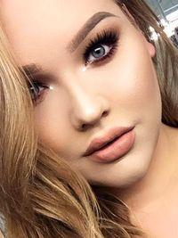 Pale Lipstick Makeup Look
