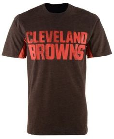 G3 Sports Men's Cleveland Browns Hands High Home Game Fashion T-Shirt - Brown XXL
