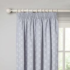 BuyJohn Lewis Anchors Lined Pencil Pleat Curtains, Pacific, W167 x Drop 137cm Online at johnlewis.com