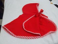 Capa para lembrancinha da chapeuzinho vermelho,feito em oxford e acabamento com vies,acima de 10 unidades vc ganha 20% de desconto!!!!!Aproveite as meninas vão adorar!!!!!