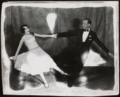 Adele Astaire and Fred Astaire in the stage production Lady, Be Good,  1921.