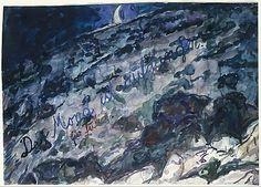 Anselm Kiefer  (German, born Donaueschingen, 1945The Moon Has Risen