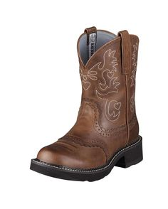 Ariat Women's Fatbaby Saddle Boot.  I want these so bad, I can't see straight.