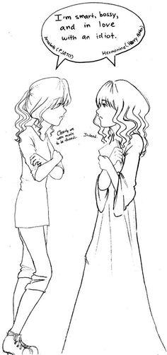 Hermione and Annabeth