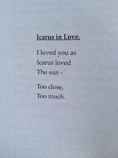 icarus in love - Google Search