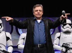 Mark Hamill on Returning as Luke Skywalker in Star Wars: The Force Awakens!