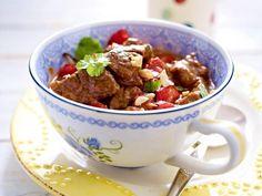 Low Carb–Rezepte - leicht und lecker - rinder-kokos-curry  Rezept