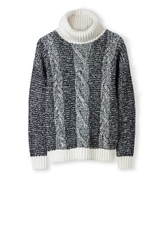 Turtlenecks: How to wear em and where to buy em Knit Jacket, Cable Knit, Knitwear, Turtle Neck, Pullover, Pure Products, Knitting, Sweaters, How To Wear