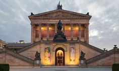 The National Gallery on Berlin's Museum Island: get three-day access to this and 50 more museums for €24.