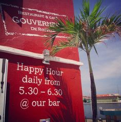 do not forget about the happy hours