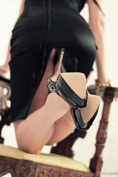 Absolut Misstress Little Black #Dress and Absolut Misstress Studded Pump #shoes