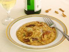 Risotto+Cu+Hribi+Şi+Gorgonzola